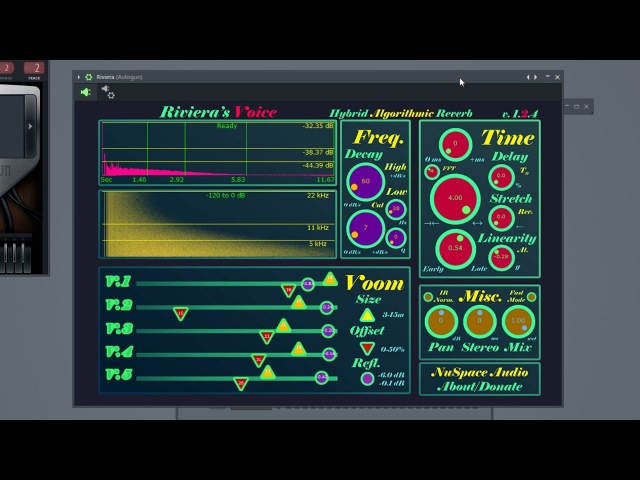 NuSpaceAudio - Riviera [WiN.OSX] [x86 x64] [Free] :: Бесплатный гибридный ревербератор