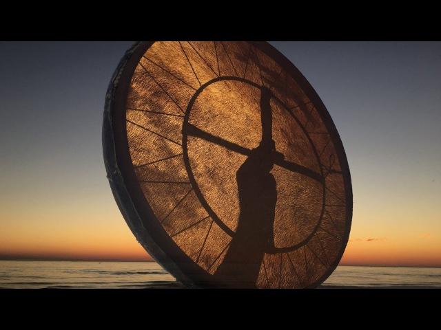 Real Shaman Healing Drum Part 4! 60 min. shamanic journey