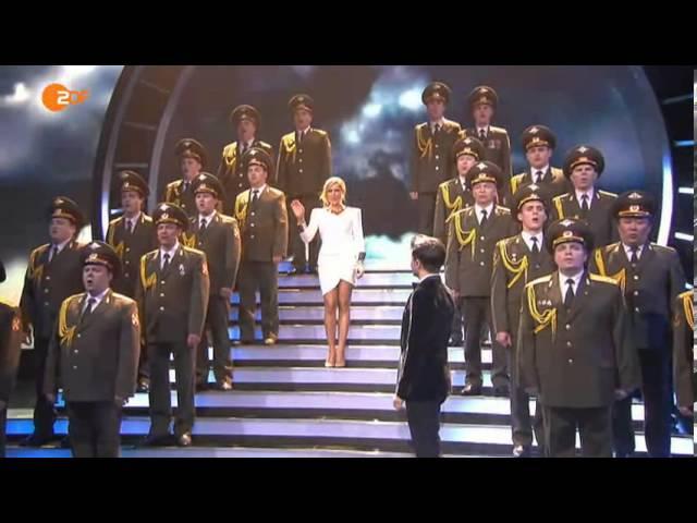 SKYFALL The Red Army Choir Vincent Niclo Helene Fischer Show 2013 @ James Bond