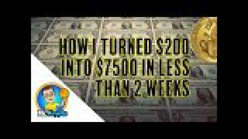 Hextracoin I How I turned $200 into $7500 in less than 2 weeks!