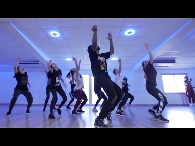 Dancehall choreo by Jiff Di Bossman (Vybz Kartel - real badman)   Danceproject.info