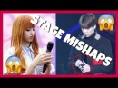 KPOP IDOLS VS STAGE MISHAPS 1 [TECHNICAL l MIC PROBLEM l ACCIDENTS] - BTS EXO GOT7 TWICE ETC
