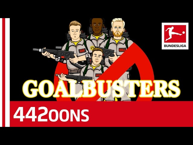 A Ghostbusters Parody feat Batshuayi Reus Schürrle and Götze Powered by 442oons