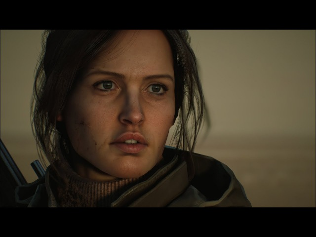 Jyn Erso, Rogue One | Realistic Character in Unreal Engine by Baolong Zhang