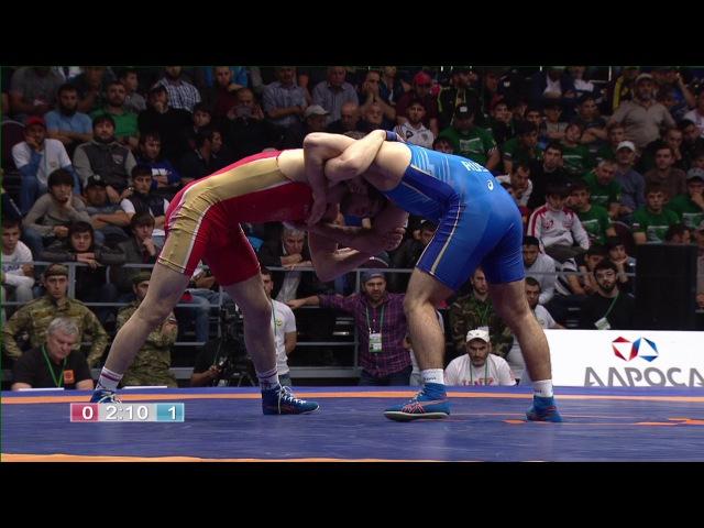 ЧР-2017. в.б. 61 кг. Виктор Рассадин - Гаджимурад Рашидов. Финал.