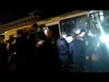 Задержания на митинге Навального
