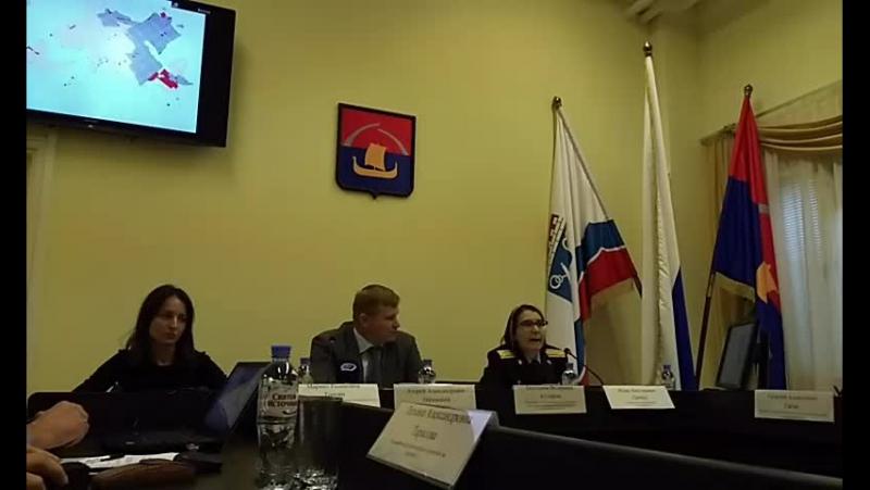 Пресс-конференция А.Низовского о земле и преступности