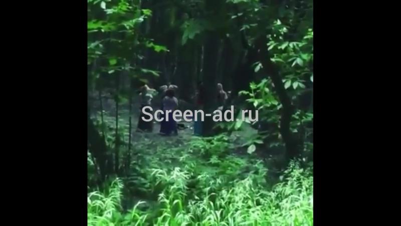В лесу Ставрополья женщины устроили шаманские танцы