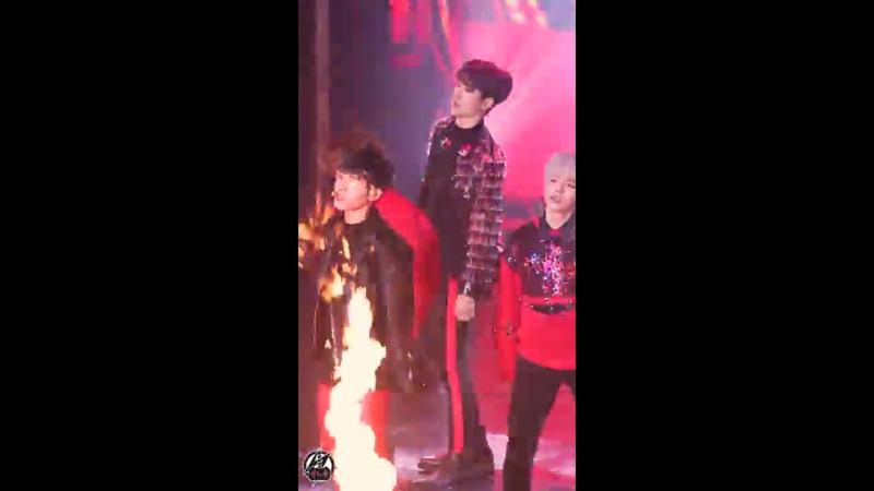 180204 레인즈 홍은기 직캠 Turn It Up RAINZ HONGEUNKI Fancam @대한민국 아리랑 대축제 @A-Pop Concert By 천둥