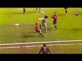 Роналдиньо - прекрасный гол в ворота Осасуны, 2004 год