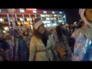 Танец дед морозов и снегурочек