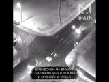 Бизнесмен на BMW X5 сбил женщину в Москве и уехал