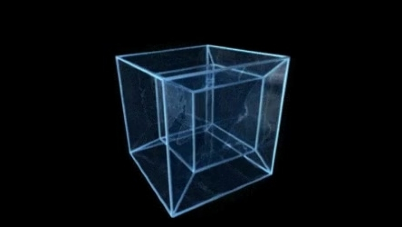 куб -4 изм тессеракт ...Ап