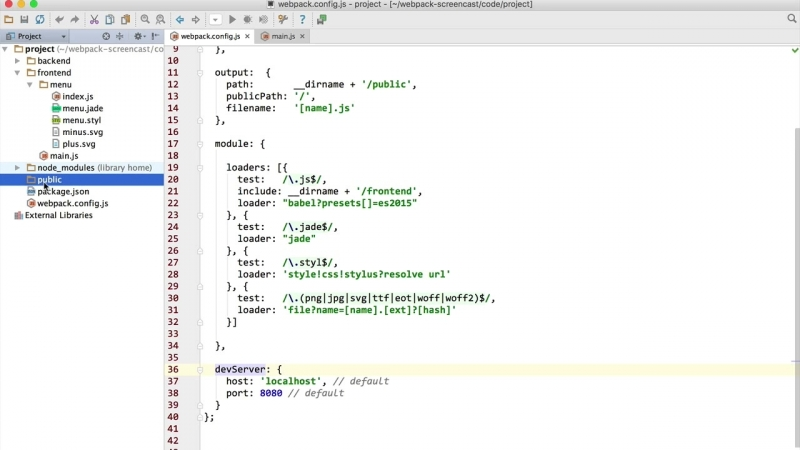 Webpack 8.1 Live Reload HMR - Webpack Dev Server - YouTube
