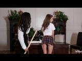 Ariella Ferrera &amp Riley Reid (Head Mistress)2017, MILF, Lesbian, Big Tits, Small, Tits, High Heels, Pornstar, 1080p