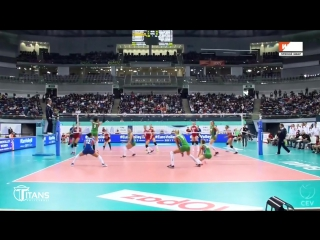Top 10 Volleyball Crazy Actions by Kübra Akman (Çalışkan). Womens EUROVOLLEY 2017. Turkey.