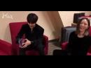171216 Разговор Джексона с певицей G.E.M. за кулисами «Migu Music Awards». Часть 1. русс. саб