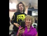 копенкина кончает от пения парикмахера