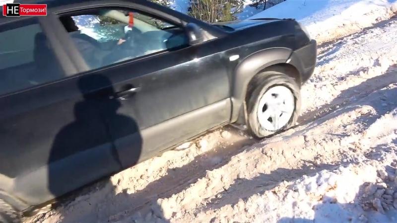 Рубанули в овраг на паркетниках! Duster, Tucson, RAV 4, Tiggo, Forester. Бездорожье, оффроад 2018