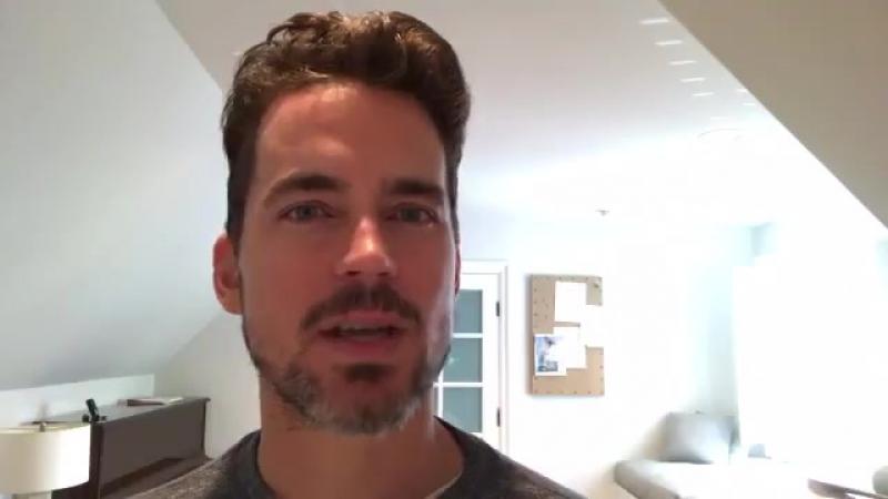 Matt Bomer's message GivingTuesday