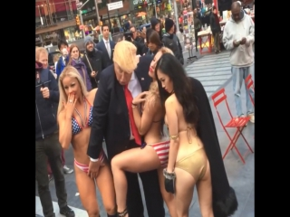 Donald Trump - The American President assault on Ladies