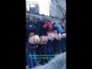 Basura sionista protesta contra basura sionista en