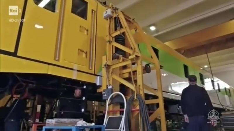 SuperQuark Italia leader per i treni diagnostici.