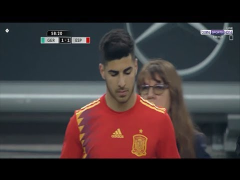 Marco Asensio vs Germany Friendly 23 03 2018 1080i