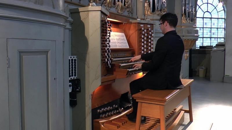 639 J. S. Bach - Ich ruf zu dir, Herr Jesu Christ (Orgelbüchlein No. 41), BWV 639 - Ulf Norberg