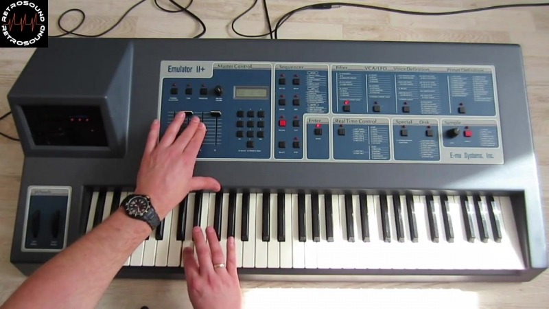Sampling with the E-MU EMULATOR II - How to - human voices, synthesizer sounds and more