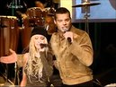 Christina Aguilera feat Ricky Martin - Nobody Wants To Be Lonely (TOTP 2001) HD