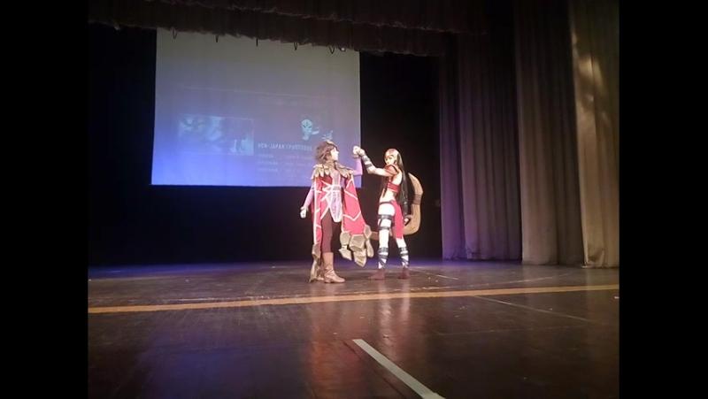 Mikan no yuki 2017 - Sivir and Taliyah