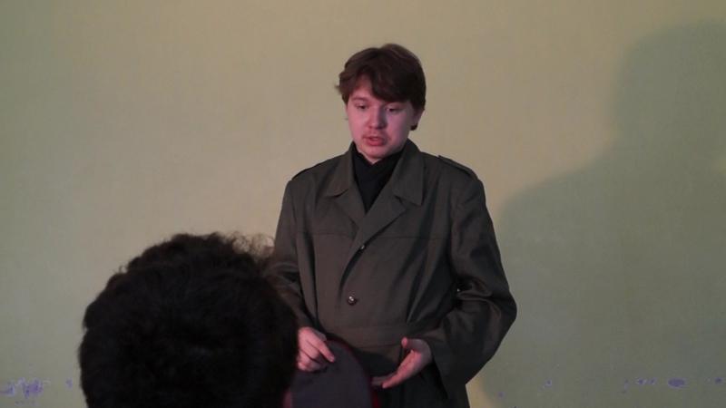 Унтер Пришибеев_курьёзы на съёмочной площадке