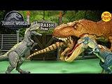 New Jurassic World Allosaurus Roarivores Unboxing T-Rex Vs Fallen Kingdom Mattel Vs Hasbro