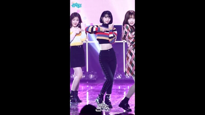 · Fancam · 180113 · OH MY GIRL - Love O'Clock (Binnie focus) · MBC Music Core ·