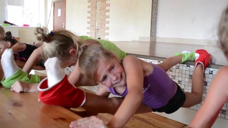 Гимнастки. Социальный ролик. Очень трогательно. Я плакал. Social video.