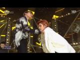 Ten & Taeyong (NCT U) - Baby Don't Stop @ Inkigayo 180304