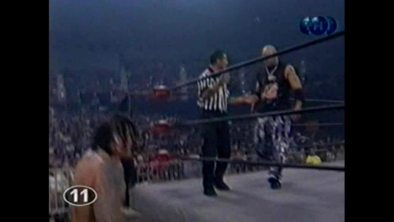Титаны реслинга на ТНТ и СТС WCW Nitro July 12 1999
