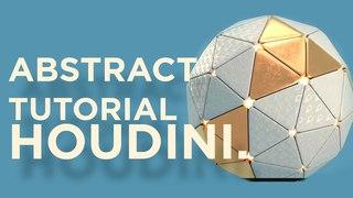 week-9 abstract tutorials using Houdini. EMVC