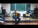 Падеспань. Дуэт гармони и рояля. Играют Илья Кучин и Сергей Уткин.