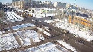 Укладка литого асфальта на ул. Мира (13.03.18)