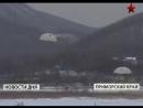 Молодые морпехи первый раз прыгнули с парашютом