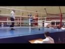 Сивериков Максим на турнире по боксу Невские звезды 2017г полуфинал