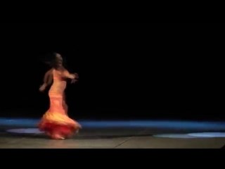 Maya Sabitova - Майя Сабитова. Perfomance at gala-show in Kaluga. Balady and Dru 21820