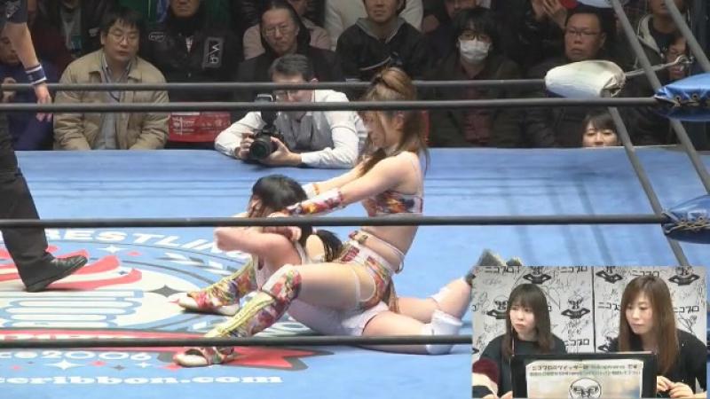 Tsukasa Fujimoto vs. Tsukushi (Ice Ribbon - RibbonMania 2017)