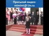Танцующий на линейке мальчик