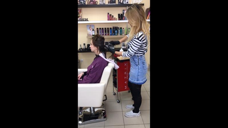 Восстановление волос от Лакме