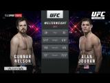 UFC Fight Night Gunnar Nelson vs Alan Jouban