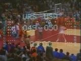 Легендарный финал СССР против США в баскетболе (6 sec)