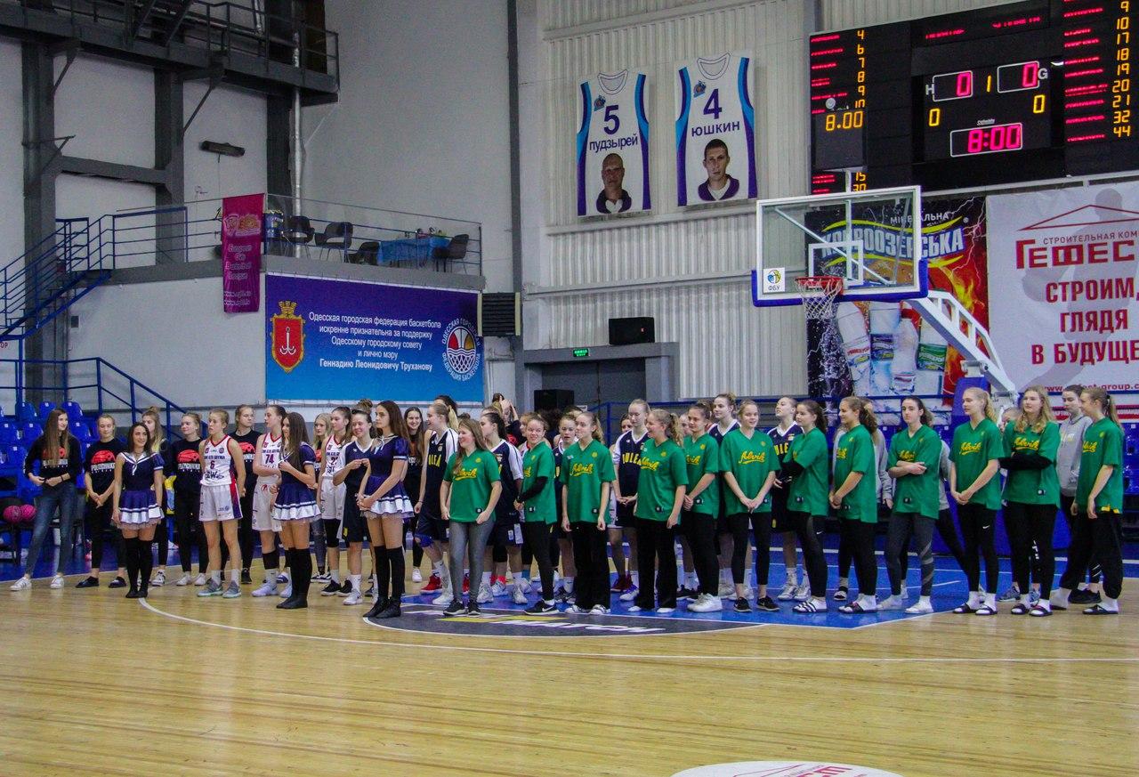 Открытие Чемпионата EGBL U-19